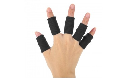10pcs Stretchy Flexible Fingers Sleeve Support