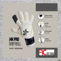 J4K PRO GRIP ROLL  IDEAL FOR WEARING ON 3G AND ARTIFICIAL PITCHES GOALKEEPER GLOVE SPECIFCATIONS: WRIST STRAP:9cm Extra Thick Wrist Strap For Added Support. PALM:4mm Super Soft New basic Palm For More Grip And Protection. BACKHAND: PK Latex. BODY:Neoprene To Allow Hand To Breath. PUNCH ZONE: Punch Zone For Added Protection. WRIST BRAND:Single Strapped.   https://www.goalkeeperglovescanada.ca/Goalkeeper-Gloves/J4K-Pro-Grip-Roll